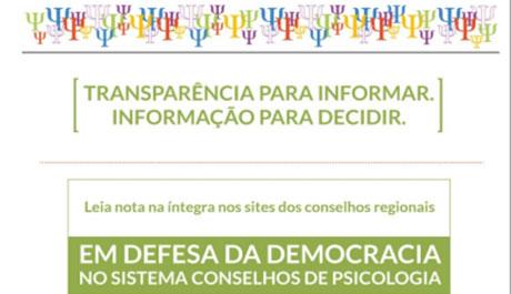 Transparência para Informar – Informações para Decidir