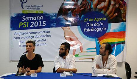 Em mesa redonda na quinta-feira (27) Semana Psi reafirma que a cura gay não tem vez na Bahia