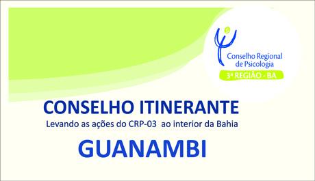Guanambi recebe Conselho Itinerante