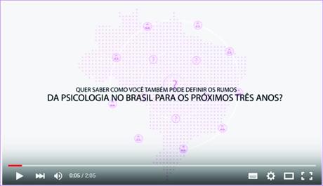 CRP-03 lança vídeo sobre 9º Congresso Nacional de Psicologia