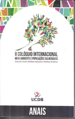II Colóquio Internacional Meio Ambiente e Populações