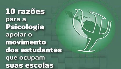 ULAPSI aponta razões para a Psicologia apoiar as/os estudantes nas ocupações