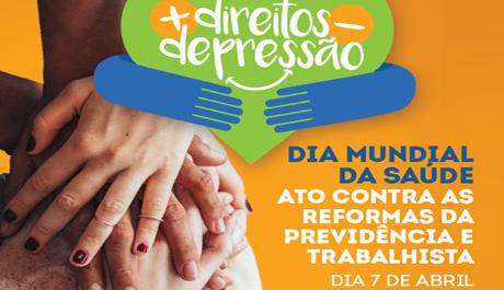 Depressão é tema do Dia Mundial da Saúde