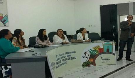 CRP-03 realiza em Itapetinga evento do mês da/o Psicóloga/o
