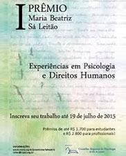 Experiências em Psicologia e Direitos Humanos