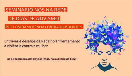 Seminário discute violência contra a mulher