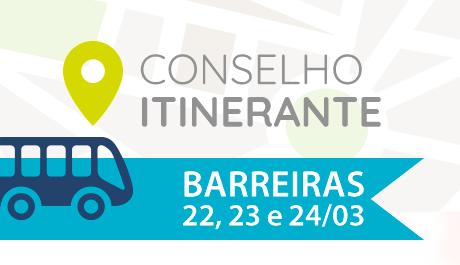 Conselho Itinerante é programado em Barreiras