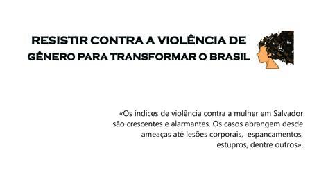 Rede produz nota sobre violência contra a mulher