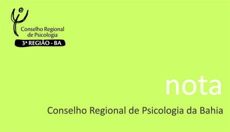 Manifesto do Conselho Regional de Psicologia da Bahia (CRP-03) à Sociedade Baiana e Brasileira em Defesa da Democracia