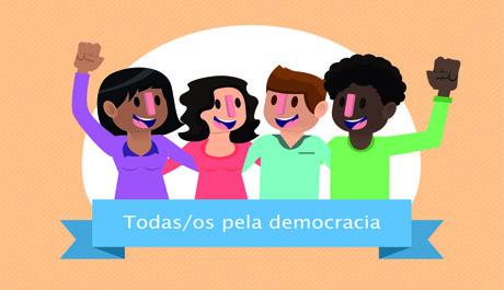 NOTA DE APOIO À DEMOCRACIA BRASILEIRA
