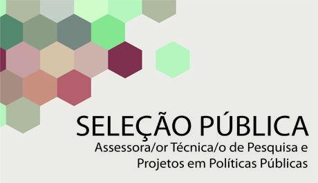 Conselho realiza seleção para cargo de Assessora/or Técnica/o de Pesquisa e Projetos em Políticas Públicas