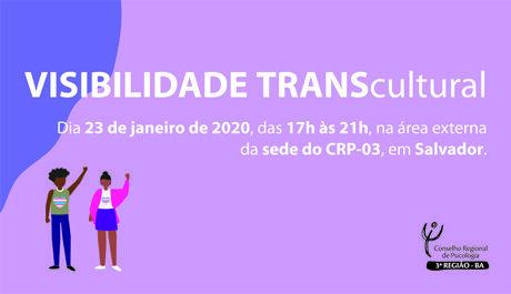 CRP-03 realiza evento no mês da Visibilidade Trans