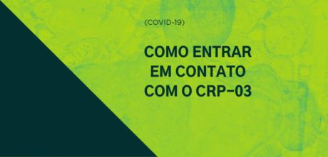 COVID-19: Conselho informa sobre funcionamento da autarquia