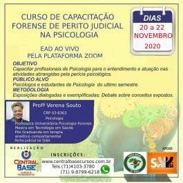 CURSO DE CAPACITAÇÃO FORENSE DE PERITO JUDICIAL NA PSICOLOGIA