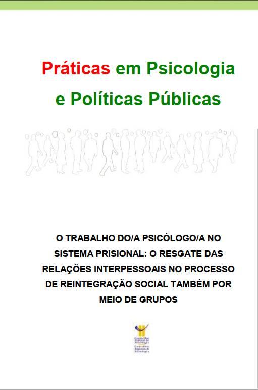 Praticas Inovadoras Sistema Prisional Grupos - CREPOP