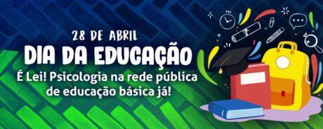 CRP-03 reforça a defesa de uma educação pública e de qualidade