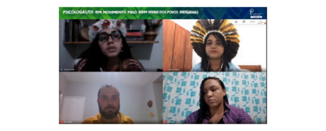 Live discute Saúde mental e Direitos Humanos das populações indígenas