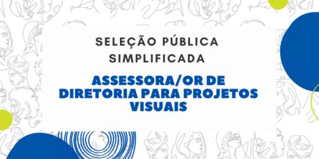 Conselho abre seleção para Assessora/or de Diretoria para Projetos Visuais