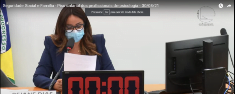 VALORIZAÇÃO PROFISSIONAL: Audiência pública realizada nesta segunda (30) debateu jornada e piso salarial de psicólogas/os